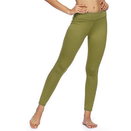 Z & Y Glaa Naked Feeling Workout für Frauen High Taist Cropped Gym Leggings Yogahosen mit Pocket-19-Zoll-Yogahosen Leggings High-Waist Tummy Control Side/Hidden Pocket-Serie