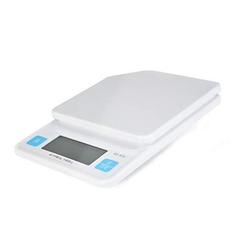 CHICTI Escalas electronicas para Uso doméstico, básculas de Cocina con función de pelado, Antideslizante Digital Escamas de Comida
