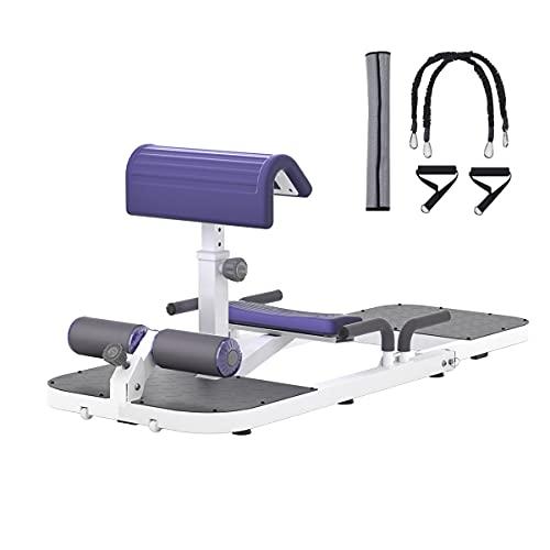 seanleecore Protable Deep Squat Machine & Hip Thrust Machine for Home Gym Glutes Workout Station Leg...