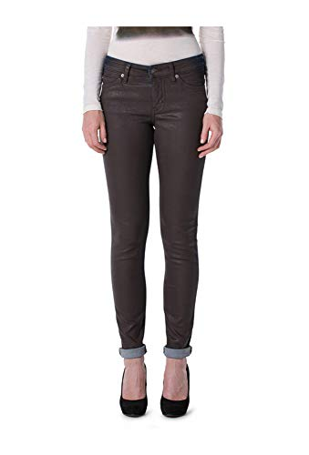 Mac Jeans Skinny Clean Leder Optik Brown Damen 0380 D032 599670 W40 L32
