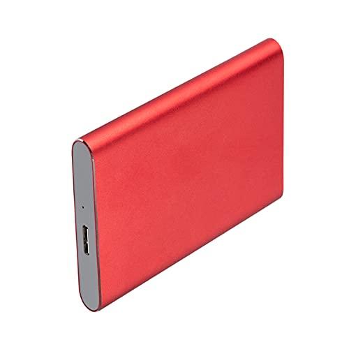 Generic 4TB Elements Hard Disk Esterno Portatile HDD, USB 3.0, Compatibile con Il PC, Nero - Red