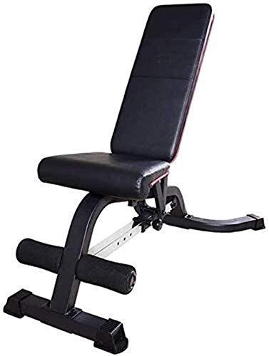 AINH Peso Ajustable Banco de Entrenamiento Fitness Gym Fitness Training Bench Inicio de Fitness Silla Sit-up Stool múltiples Funciones de la Aptitud de la máquina 400 kg Teniendo