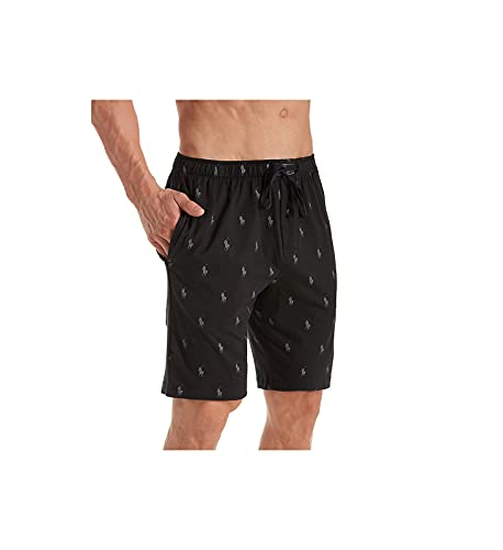 Polo Ralph Lauren Knit Sleep Shorts Polo Black/Active Grey Aopp MD