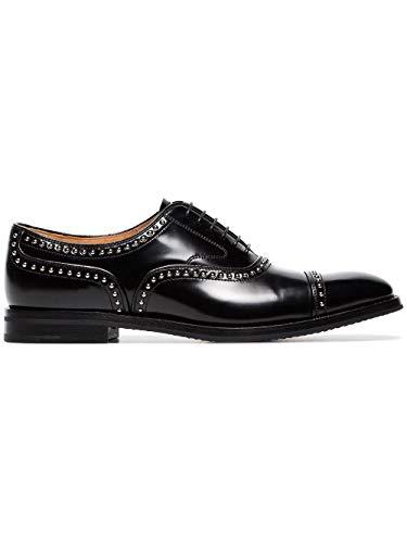 Luxury Fashion   Church's Mujer DE01439EMF0AAB Negro Zapatos De Cordones   Temporada Permanente