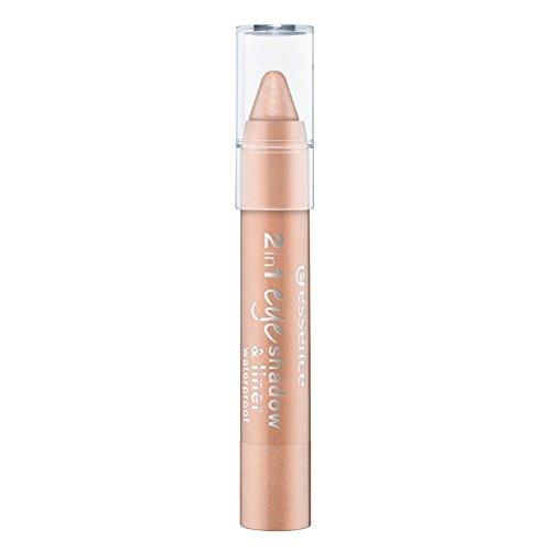 essence - Lidschatten & Eyeliner - 2in1 eyeshadow & liner 02 - peach perfect