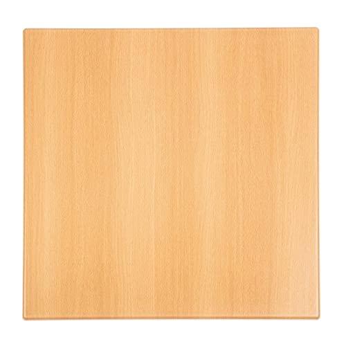 Bolero Kwadratowy blat stołu buk 700 mm drewno restauracja catering hotel bar