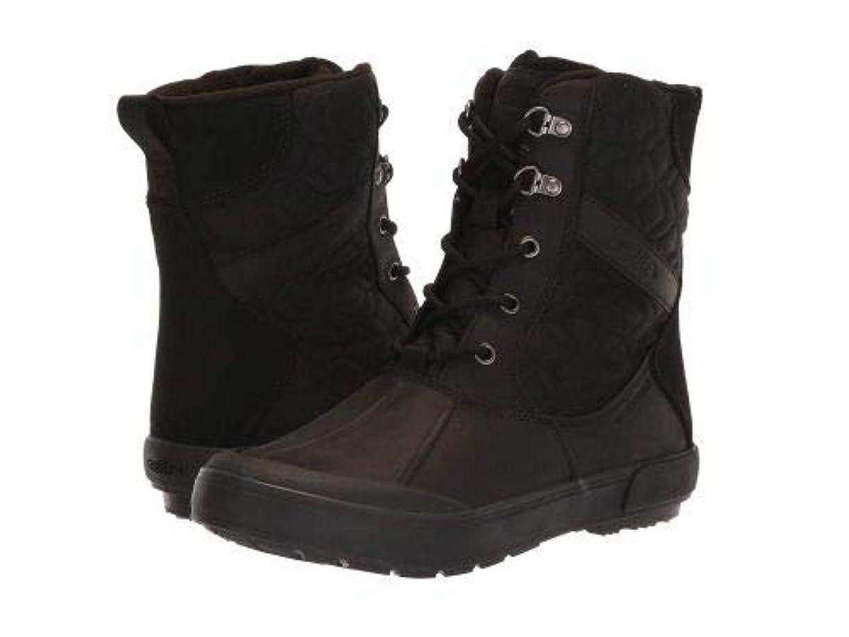 下向きアンドリューハリディクライストチャーチKeen(キーン) レディース 女性用 シューズ 靴 ブーツ スノーブーツ Elsa II Quilted Waterproof - Black/Raven [並行輸入品]