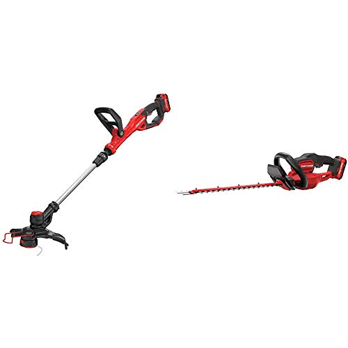 Best Review Of CRAFTSMAN CMCST900D1 V20 Cordless WEEDWACKER String Trimmer/Edger - Automatic Line Ad...