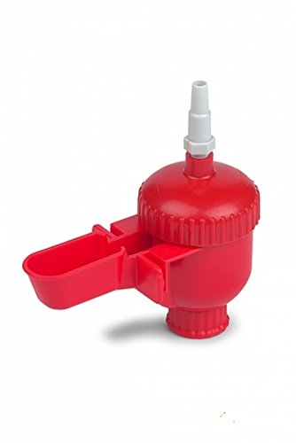 Faunagarden 4 bebederos automaticos para pequeñas aves mas 3 Tes y 2 metros de goma para su conexion a un deposito de agua
