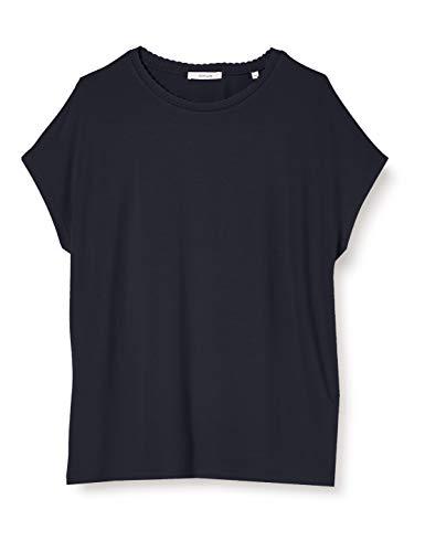 OPUS Damen Sudella crochet T-Shirt, just blue, 40