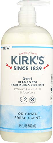 Kirks (NOT A CASE) Wash 3 in 1 Fresh Scent