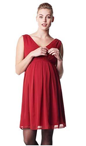 Noppies Dress sl Belem Kleid Hochzeitskleid Brautkleid Damen Umstandsmode Cocktailkleid/festliches Kleid