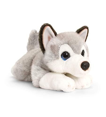Juguete suave Keel Toys SD2521, color gris, blanco , color/modelo surtido