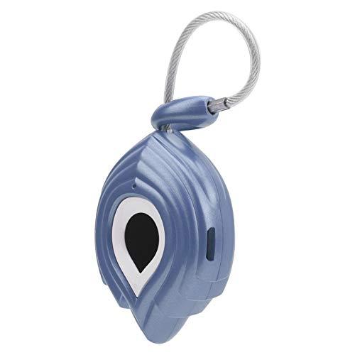 Candado portátil inteligente con huellas dactilares Cerradura antirrobo resistente a las palancas Resiste 200 libras con un cable USB para la maleta de los cajones del gabinete de la oficina(azul)