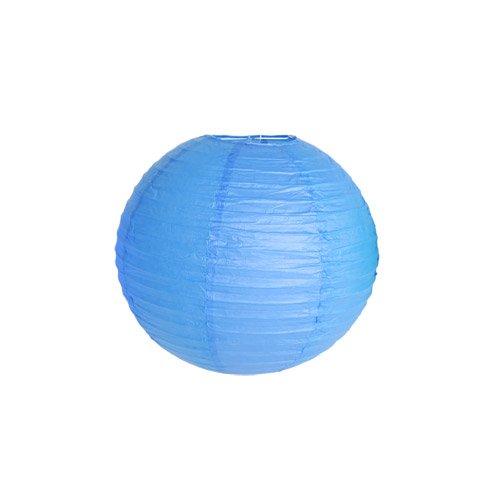 Skylantern Original 1471 Lanterne Boule Papier Bleu Roi 40 cm