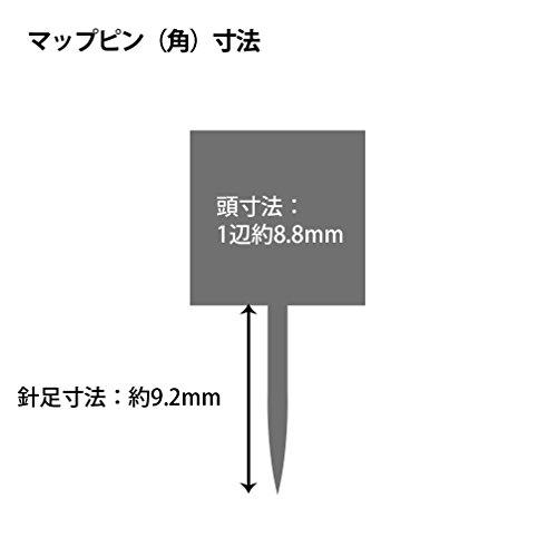 プラスマップピン角カラーミックスCP-109R5個パック35-381×5