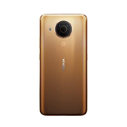 Nokia 5.4 Smartphone mit 6,39-Zoll-HD+-Display, 4 GB RAM, 128 GB Speicher, 48-MP-Vierfach-Kamera, Qualcomm Snapdragon 662, 2 Tagen Akkulaufzeit und Android-Upgrades, Dual-SIM - Midnight Sun - 3