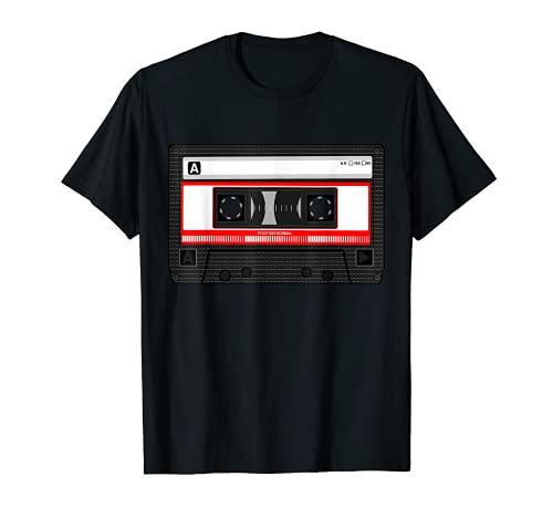 Retro Vintage Kassette Tape 80er 90er Jahre 80's 90's Party T-Shirt