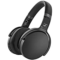 Sennheiser HD 450BT Bluetooth 5.0 Wireless Headphone with Active Noise Cancellation (Black)