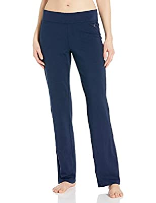 Danskin Women's Yoga Pant, Midnight Navy, XL