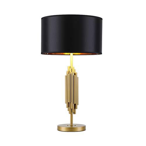 Luz Mesa de Noche Lámpara de mesa de cerámica de cerámica de escritorio de la vendimia del bulbo de la lámpara lámpara de mesa de hierro forjado Base de la lámpara País Lámparas de estar Sala de regal