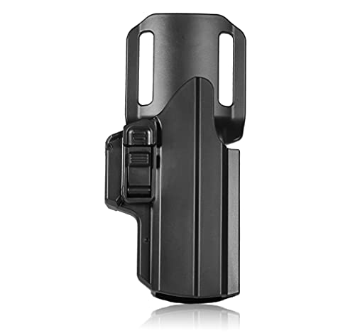 efluky Universale IPSC Fondina Pistola Polimero Holster per Beretta APX/Glock 19 17/CZ P09 P07/Walther P99/H&K USP