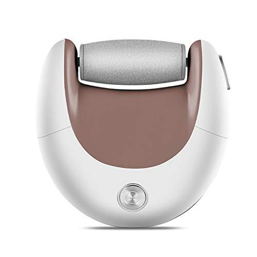 Anself Mini kit de Eliminación de Callos de Pie Eléctrico Portátil con USB Removedor de piel dura Depurador de pies 2 Cabezales de Pulido Lima de pies