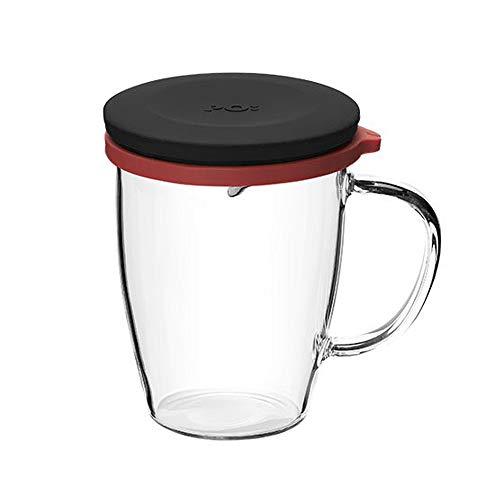 Po Selected Tazza da tè in Vetro con Coperchio, in Cui Si può conservare e riutilizzare.