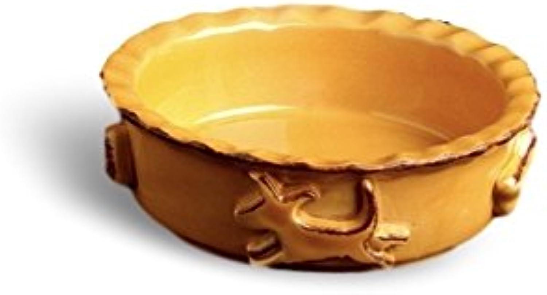 Carmel Ceramica PDSC3005 Dog Food Water Bowl, Caramel, Small