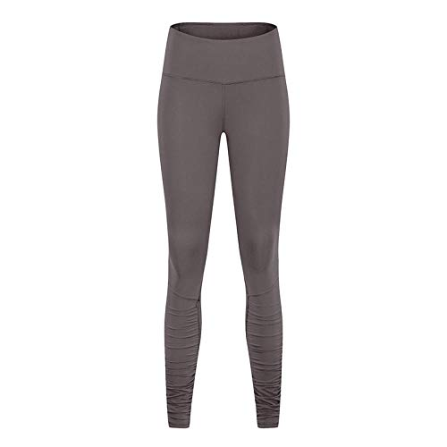 RRUI Leggings voor dames sportswear panty & leggings voor dames elastische case plissé broek vrouwen hoge taille heup yoga spandex korte broek lichtblauw 6