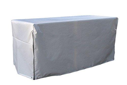 GRASEKAMP Qualität seit 1972 Schutzhülle zu XXL Kissenbox Auflagenbox Gartenbox Truhe PVC Gewebe