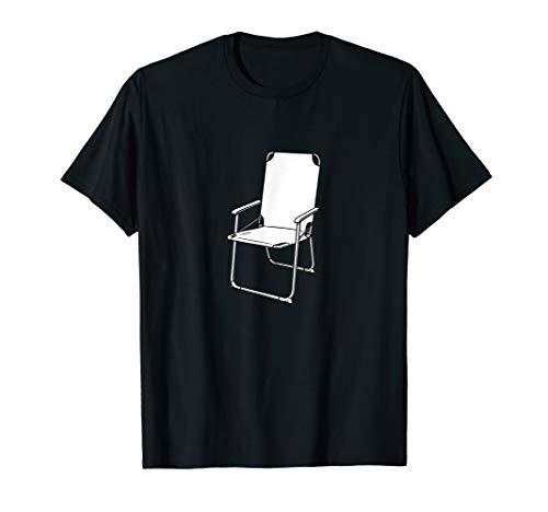 Lustiges Klappstuhl Campingstuhl Design T-Shirt