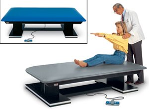 "Lowest Price! Dual Lift Powermatic® Mat Platforms, color blue, Length, Width, Height:5"" 7"" 19/2"