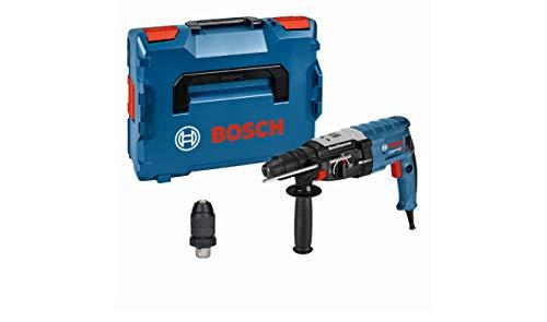 Bosch Professional GBH 2-28 F - Martillo perforador (3,2 J, máx. hormigón 28 mm, portabrocas SDS plus + cilíndrico, en L-BOXX)