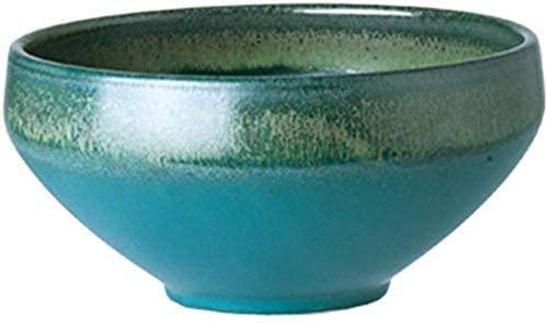 HGXC Cuenco de cerámica Vintage Cuenco de Postre Cuenco de Desayuno Cuenco de Sopa para el hogar Cuenco pequeño Comercial