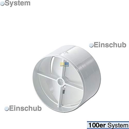 LUTH Premium Profi Parts Rückstauklappe 100er Luftführungssystem Ablufttrockner