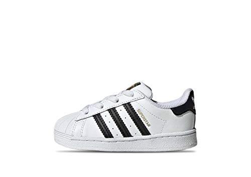 adidas Unisex-Kinder Superstar EL I Sneaker, Weiß (Ftwr White Core Black Ftwr White), 22 EU