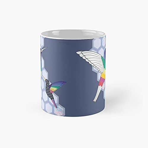 Hummingbirds Classic Mug - Funny Gift Coffee Tea Cup White 11 Oz The Best Gift for Holidays.