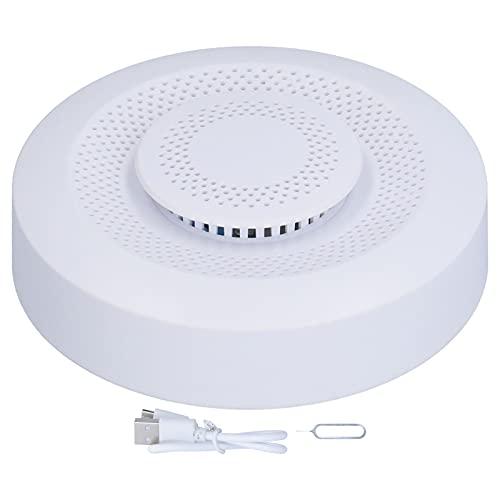 01 Misuratori di qualità dell'Aria Interna, WiFi Smart Rilevatore di qualità dell'Aria Monitoraggio in Tempo Reale Rilevatore Multifunzione di umidità e Temperatura di COV di Formaldeide
