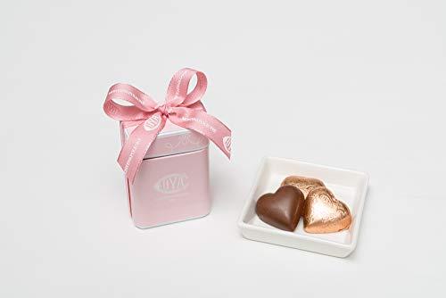 COVA MONTENAPOLEONE 1817(コヴァ モンテナポレオーネ) ジャンドゥイヤ ハーツ ボックス チョコレート ハートジャンドゥイヤ 母の日 父の日 贈答用 お礼 ギフト お菓子 高級 手提げ付き 60g