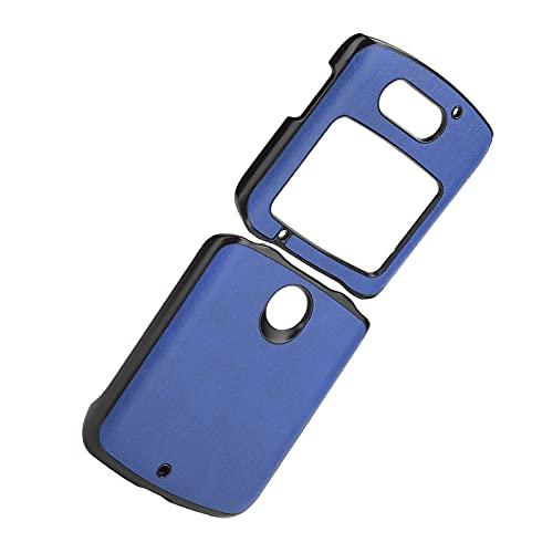 Handyhüllen Handyhülle für Motorola PU Lederhülle für Motorola Moto G5 Plus Handyhüllen(Blue)