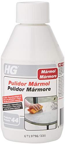 HG Pulidor Mármol – da Brillo - Intensifica el Color y la Textura - para Todo Tipo de Piedra Natural, 300 Mililitros
