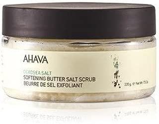 AHAVA(アハバ) デッドシー ソルト ソフニング バター ソルト スクラブ 235ml/8oz [並行輸入品]