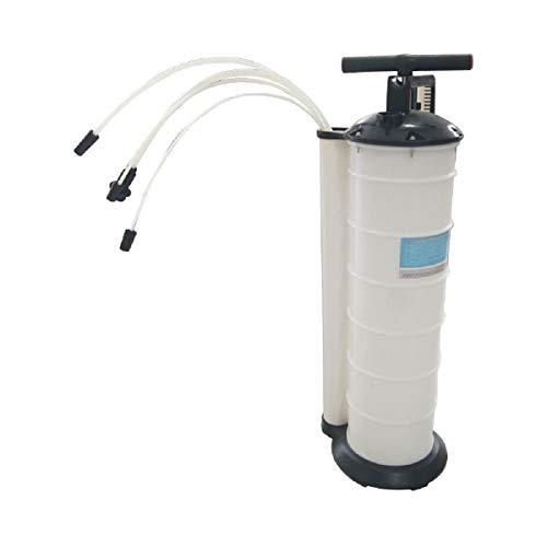 KATSU Pompa di aspirazione manuale per liquidi, acqua, fluidi, olio, olio per macchina e motori, capacità 7 litri