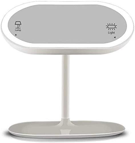 Tabla de maquillaje Espejo de baño con luces LED 2 en 1 USB