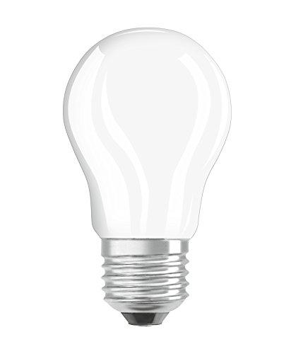 Osram Ampoule LED Filament, Forme sphérique, Culot E27, 4W Equivalent 40W, 220-240V, dépolie, Blanc Chaud 2700K, Lot de 1 pièce