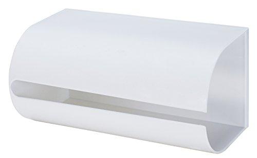 ライクイット ( like-it ) キッチン収納 マグネット キッチン ペーパーホルダー 幅25.8x奥13.5x高12.8cm ホワイト 日本製 Mag-On8038