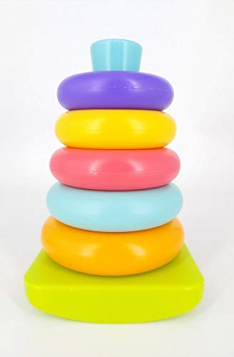 Hamleys Fun 2 Learn Stacking Ring Toy, Gift for Babies and Kids