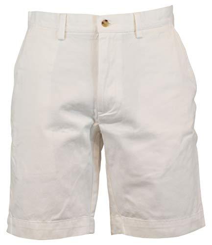Polo Ralph Lauren Flat Front Chino Short (42, Bright White)