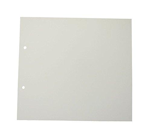 Rössler 13161147012 Nachfüllpackung für Fotoringbuch, 229 x 209 mm, offweiß, 15 Blatt